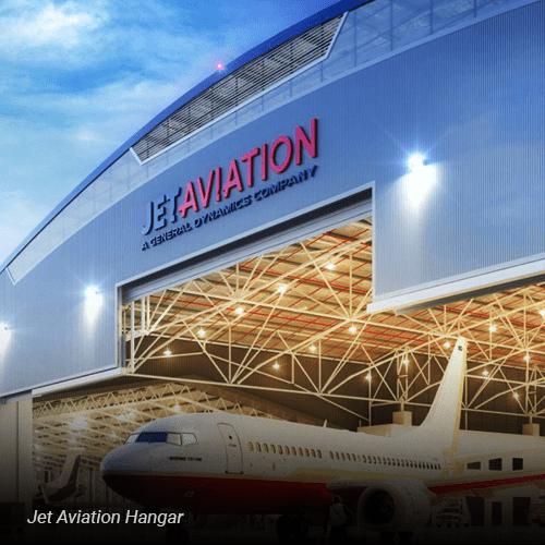 Jet Aviation Hangar