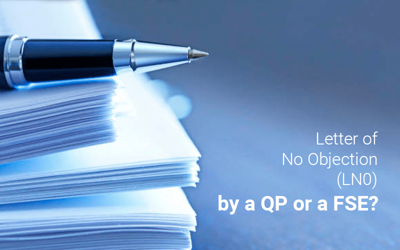 Letter of No Objection (LNO) for Buildings with Performance-based Designs